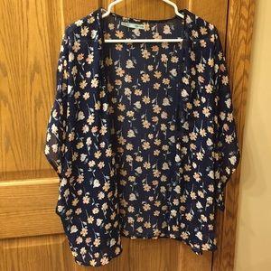 Maurices Floral Kimono